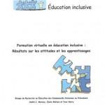 Formation virtuelle en education inclusive (avec CD)