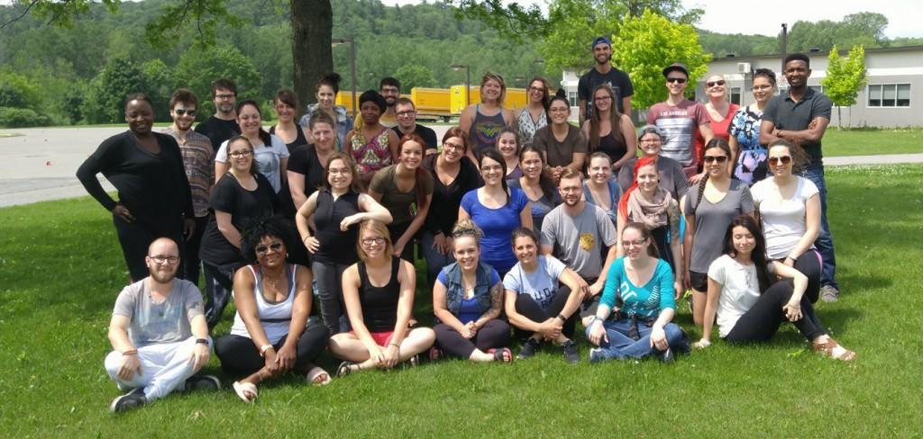 Photo de l'équipe éducative - été 2017