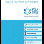 Autisme : Guide à l'intention des familles
